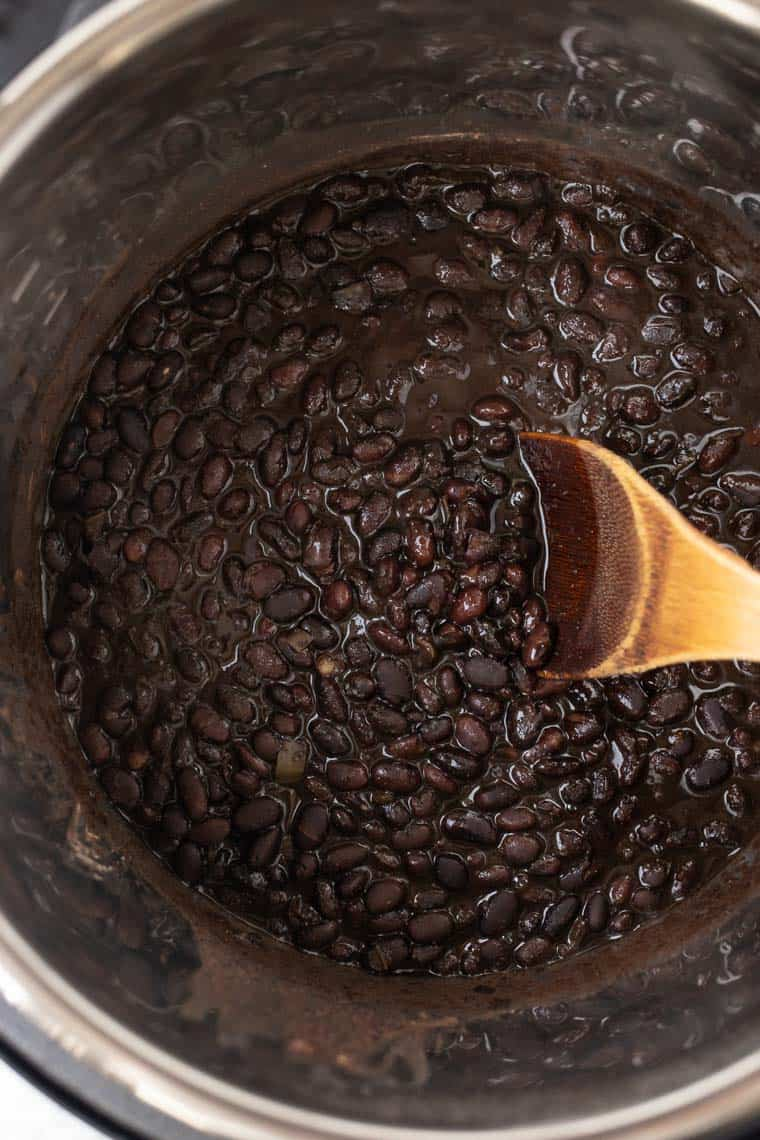 Black Beans in the Instant Pot