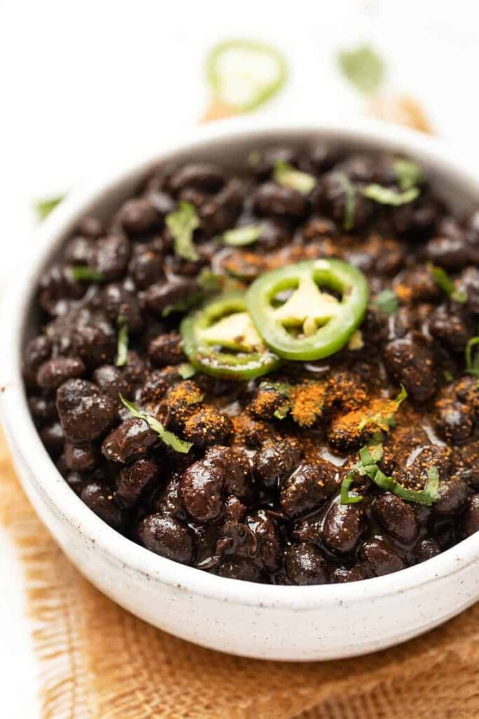 How to Make Black Beans in the Pressure Cooker