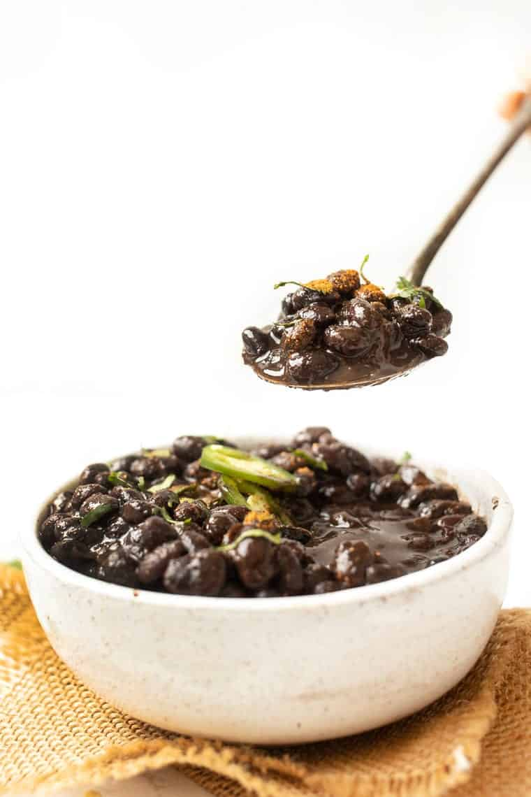 Easy Instant Pot Black Bean Recipe