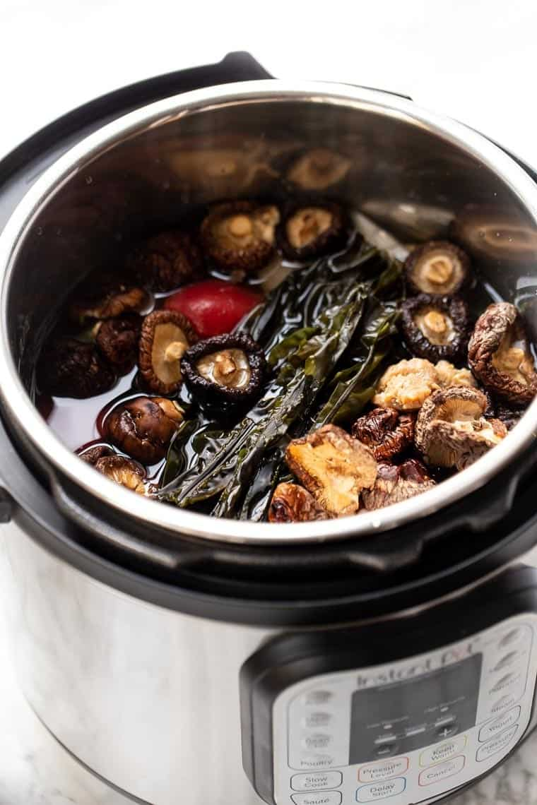 How to make Broth in the Instant Pot