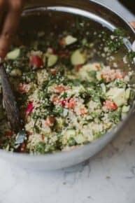 Easy Vegan Quinoa Salad Recipe