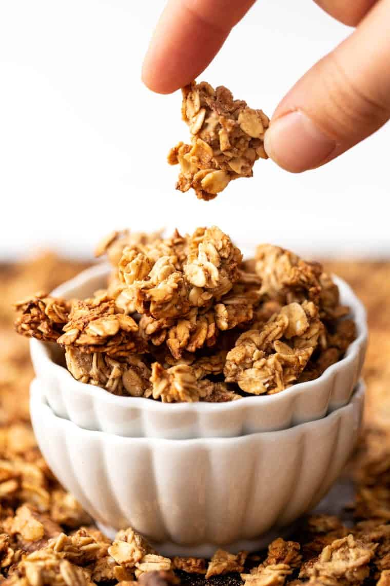 Easy Banana Bread Granola