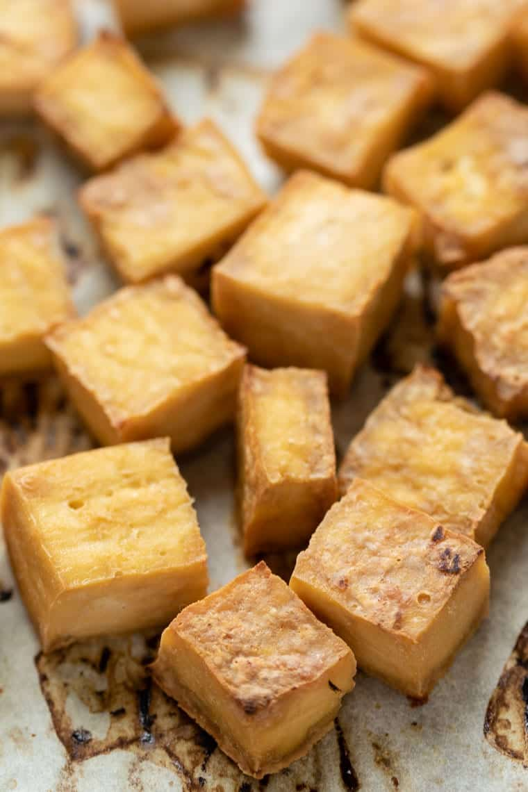 How to make Crispy Tofu in the Oven