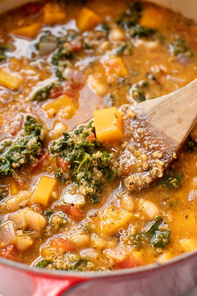 Kale White Bean Stew Recipe
