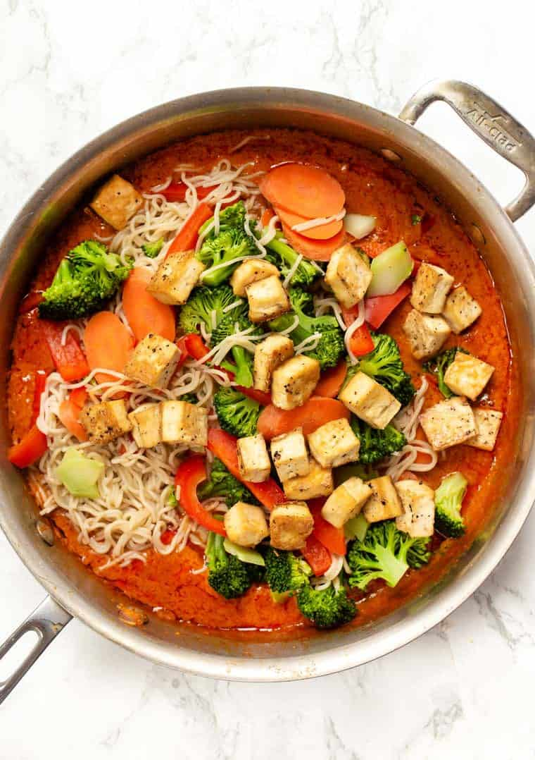 How to make Vegan Red Curry
