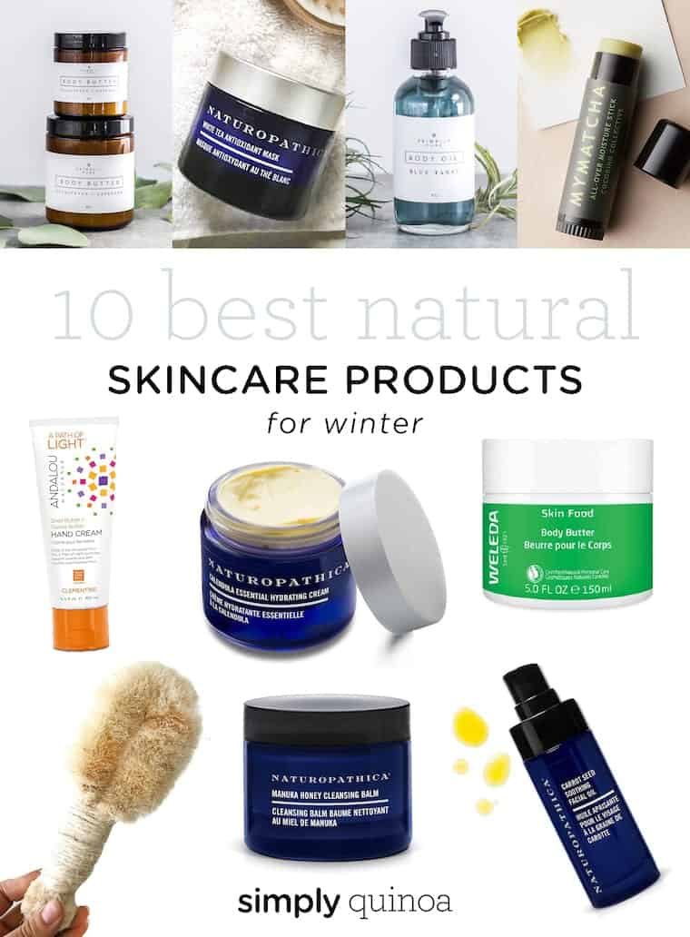 Best Natural Skincare Products for Winter