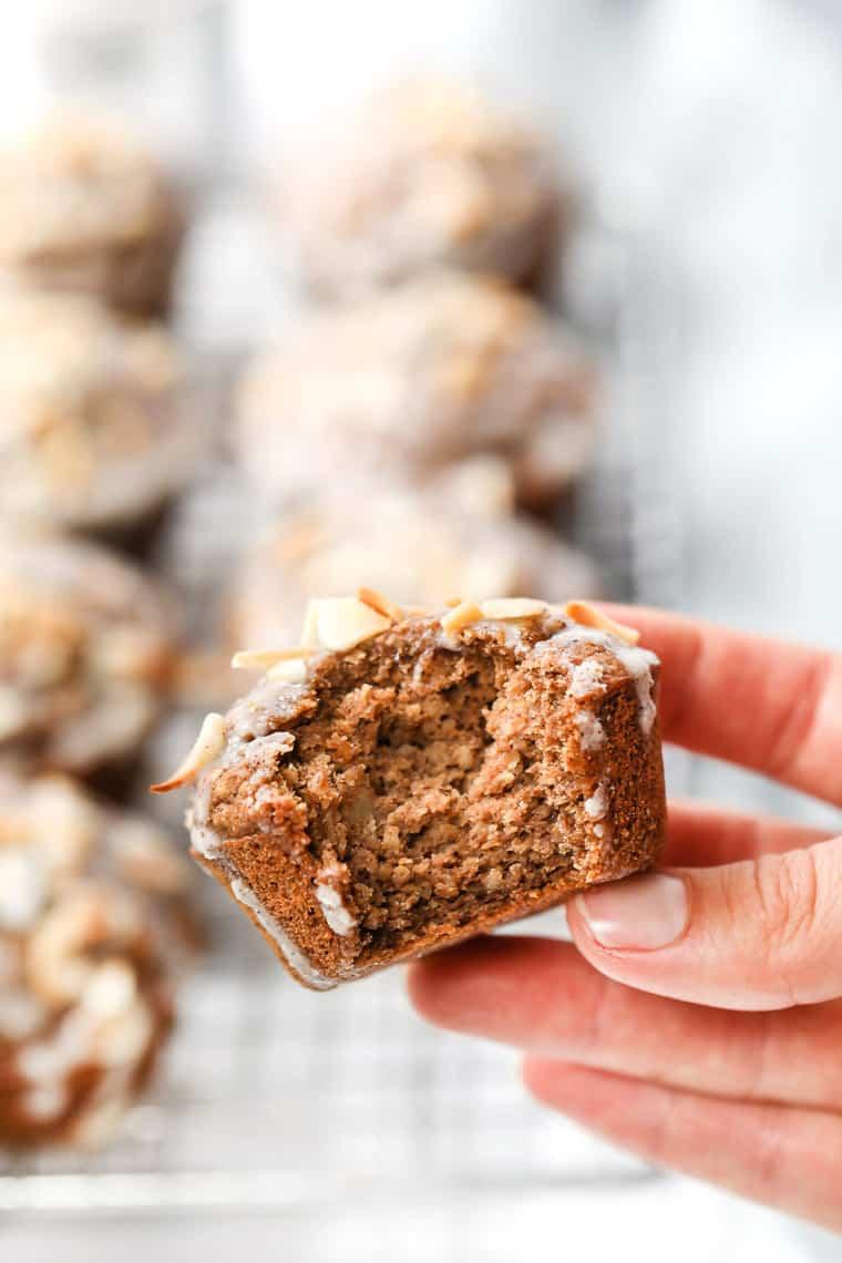 Chai Spiced Quinoa Flour Muffins