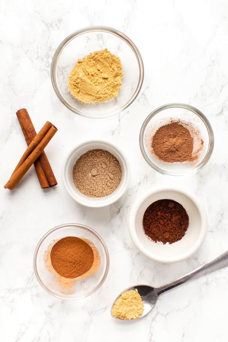 Spices in Chai Spice Blend