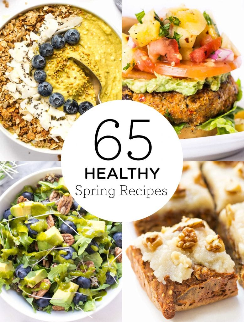 65 Healthy Spring Recipes