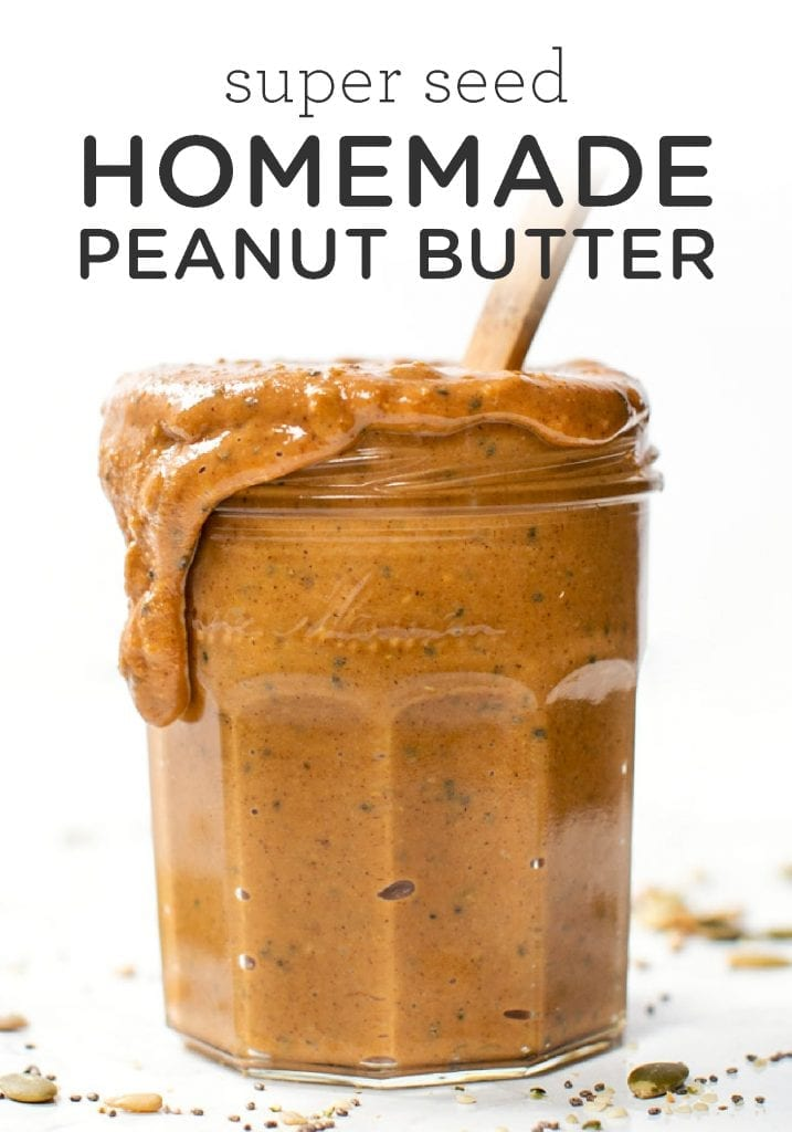 Super Seed Homemade Peanut Butter