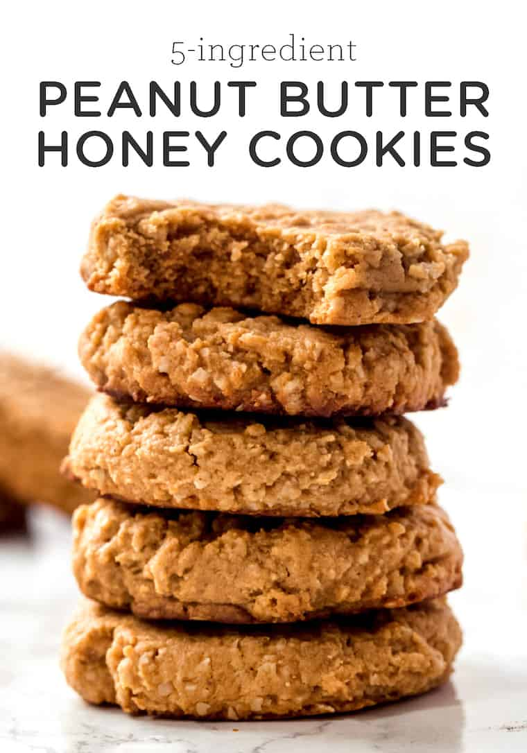 Peanut Butter Honey Cookie Recipe