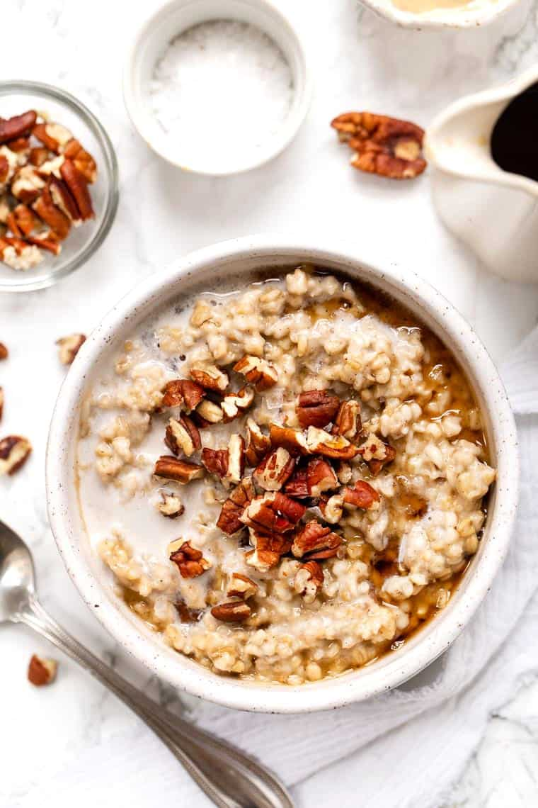 Maple Steel Cut Oats