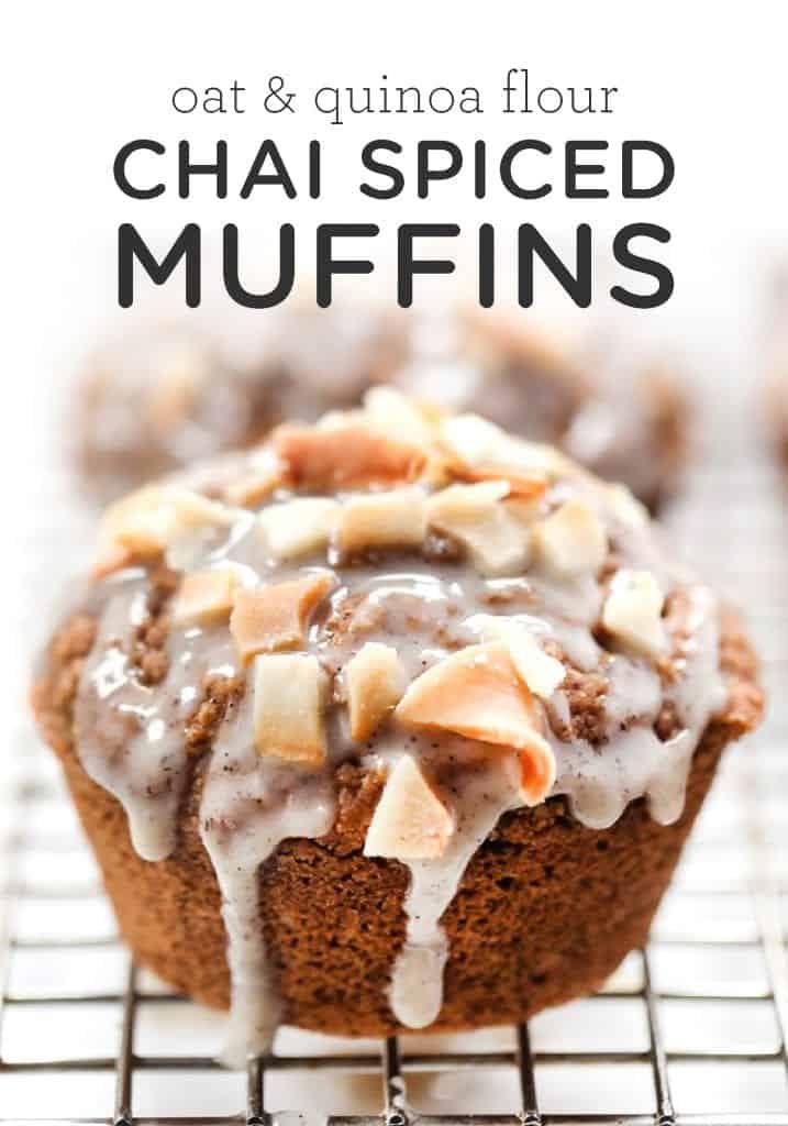 Gluten-Free Chai Spiced Muffins