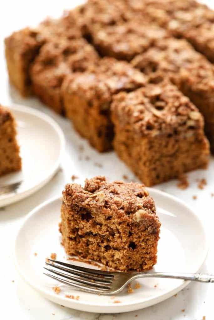 The Ultimate Gluten Free Coffee Cake