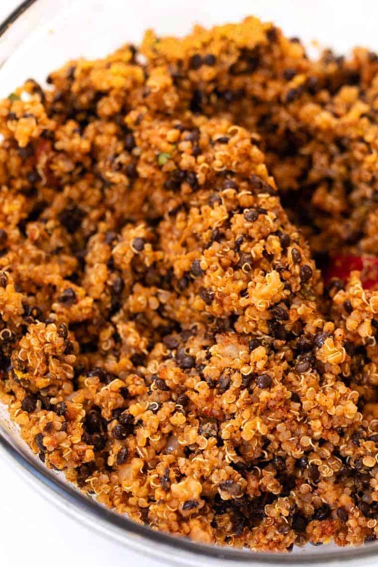 Lentil & Quinoa Taco Meat Recipe