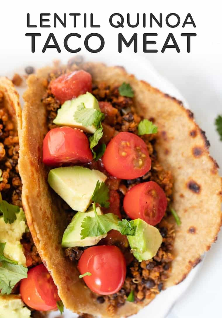 Vegan Taco Meat with Lentils