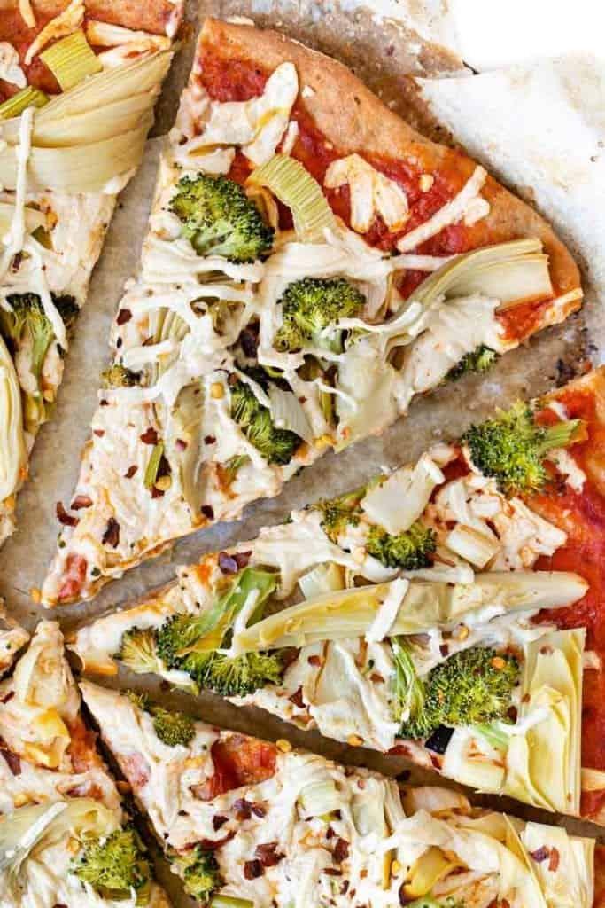 Quinoa Flour Pizza Recipe