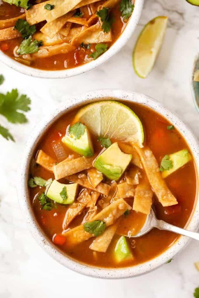 Best Quinoa Tortilla Soup Recipe