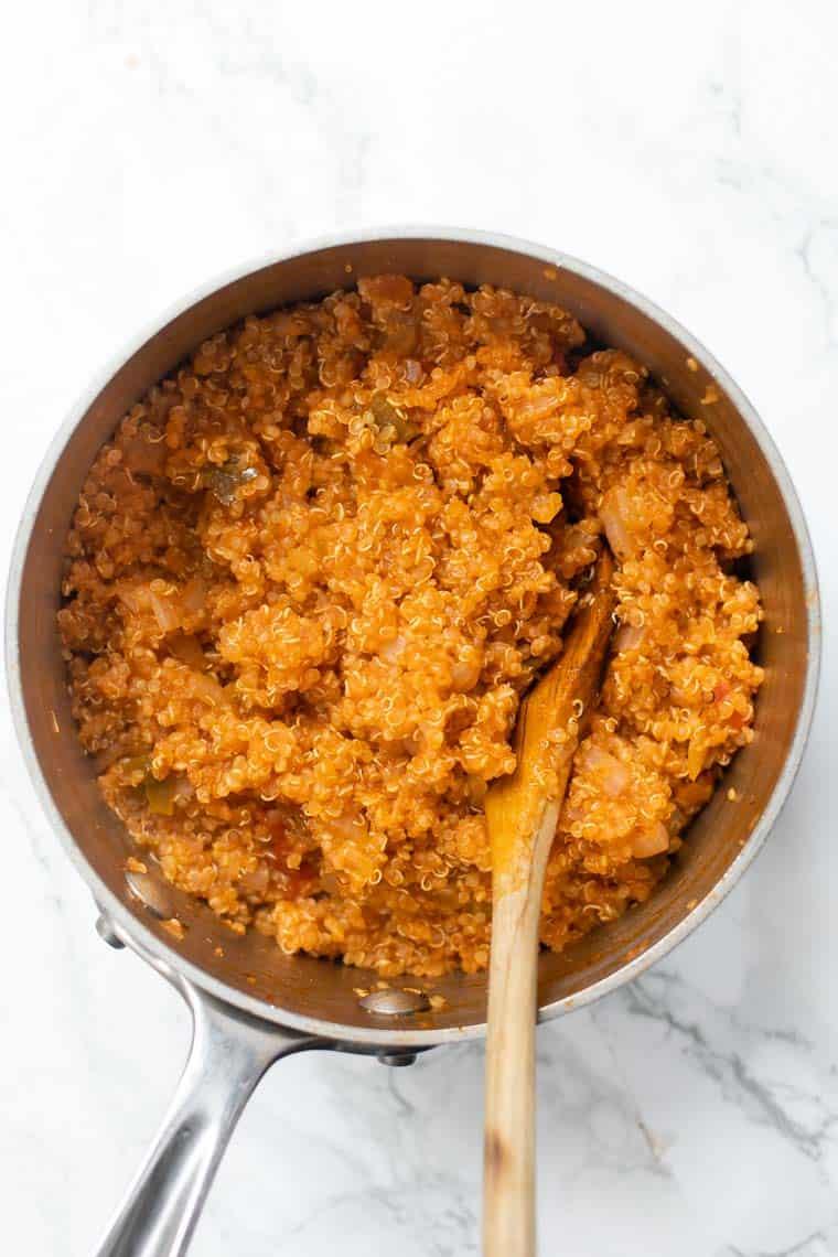 How to make Spanish Quinoa