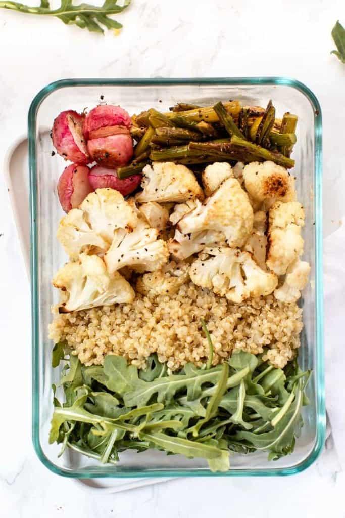 Meal Prep Quinoa Bowls