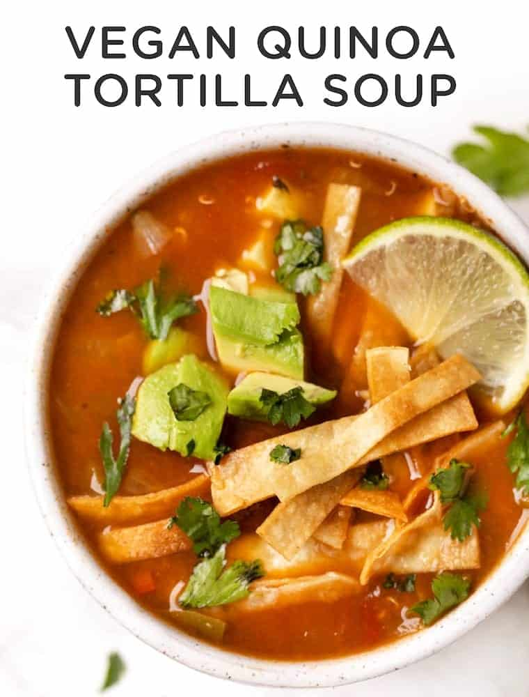 Healthy Tortilla Soup Recipe
