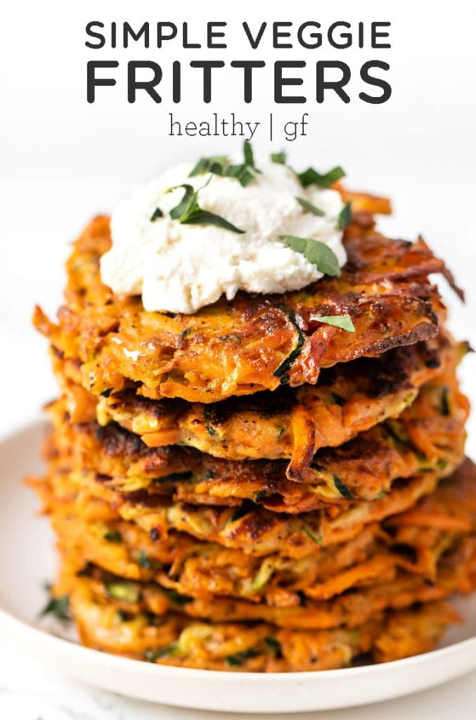 Simple Veggie Fritters
