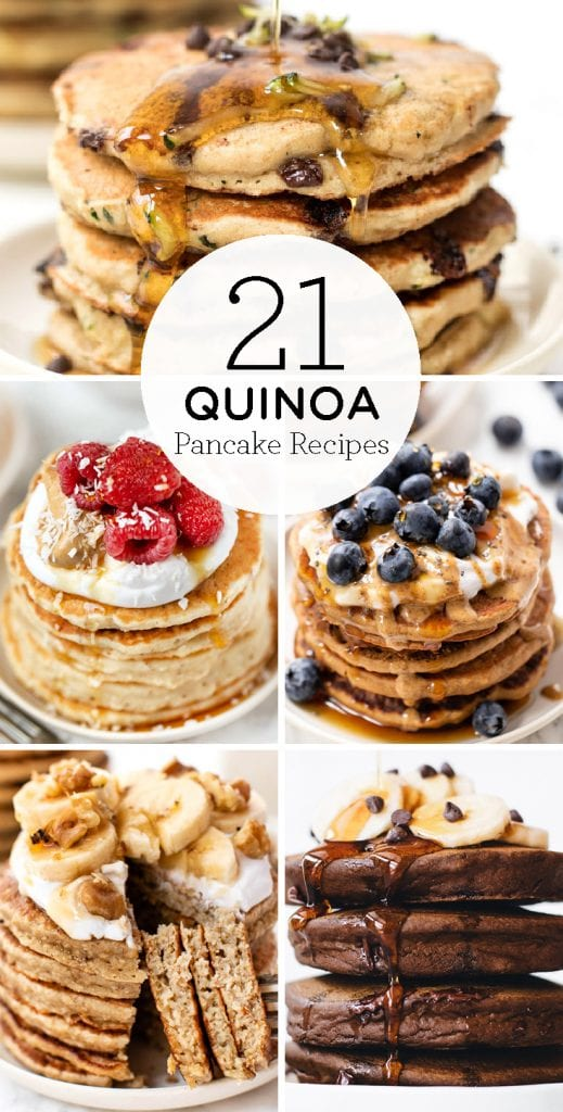 20 of the BEST Quinoa Pancake Recipes