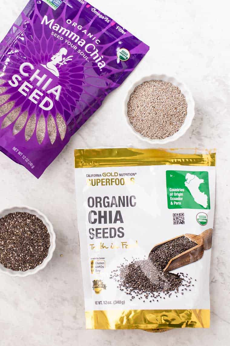 Types of Chia Seeds