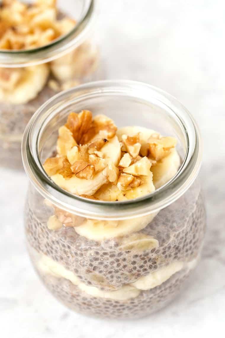 Banana Chia Pudding Recipe