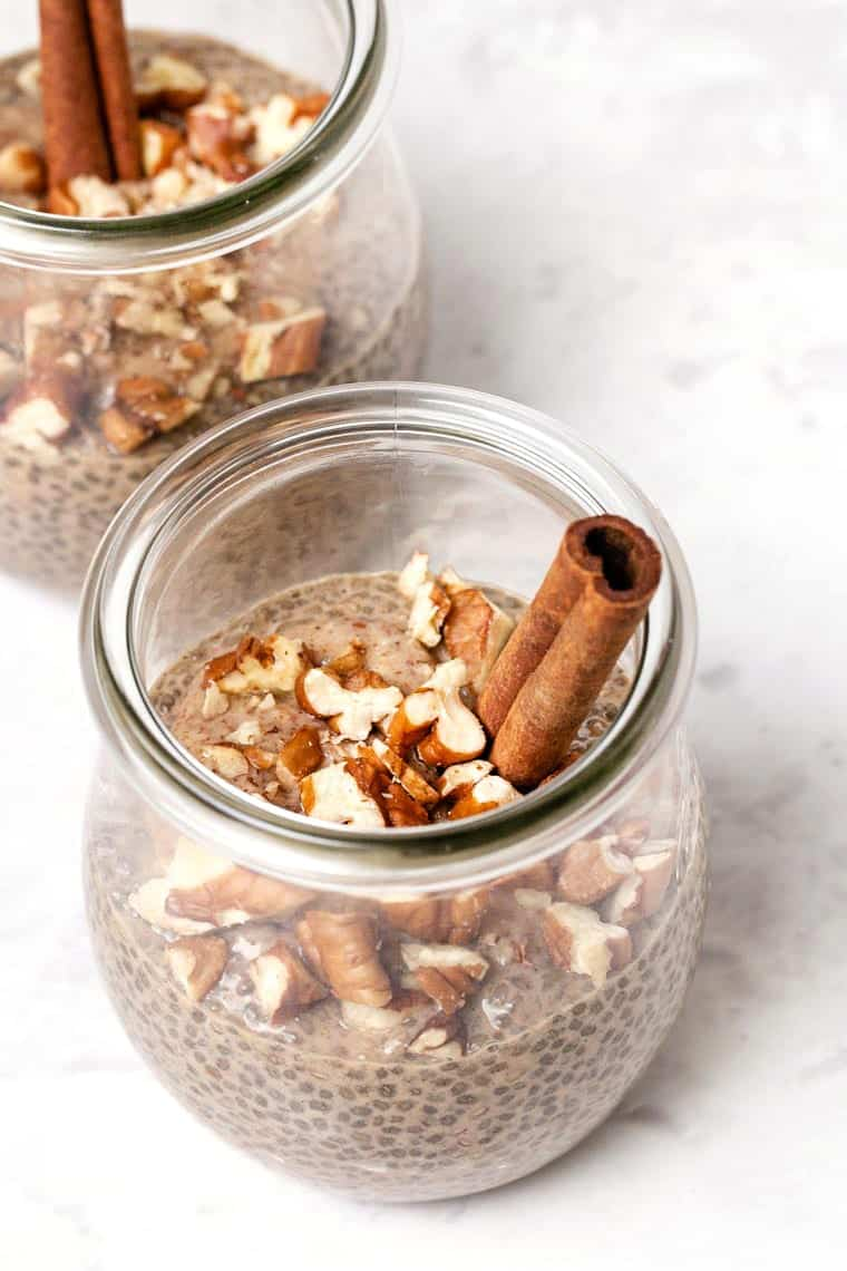 Chai Latte Chia Pudding Recipe