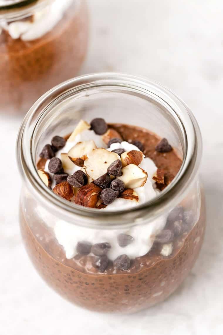 Dark Chocolate Chia Pudding Recipe