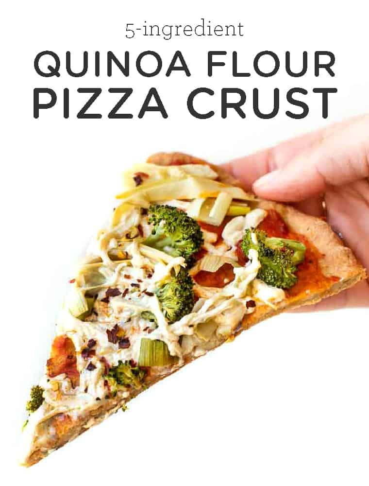 Quinoa Flour Pizza Crust