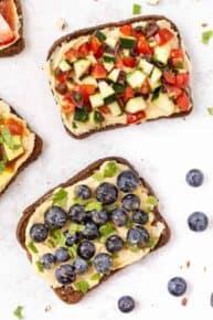 Healthy Breakfast Toast Recipes