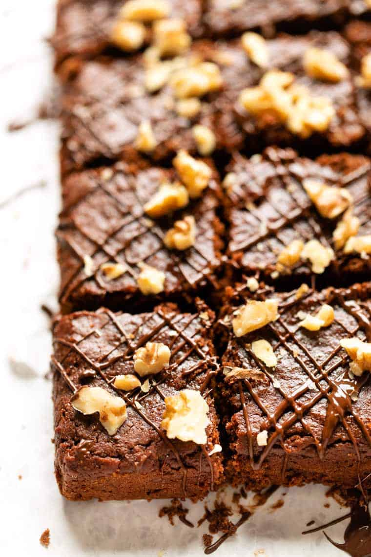 Easy Almond Butter Brownies
