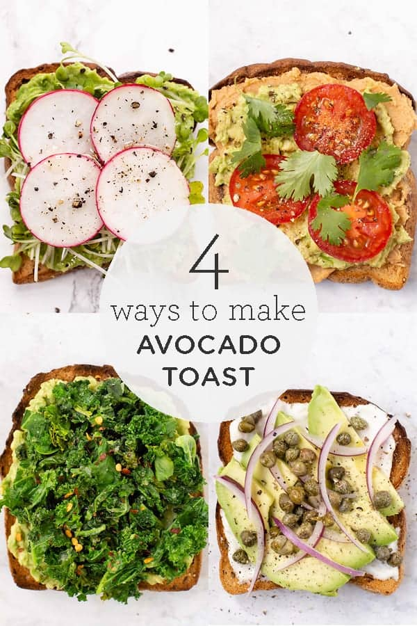 4 Avocado Toast Recipes