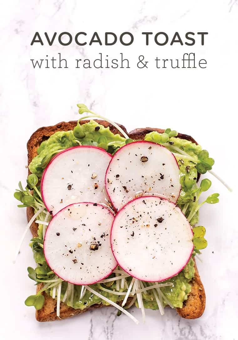 Truffle Avocado Toast Recipe