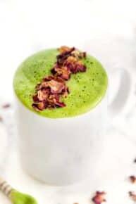Rose Matcha Latte Recipe