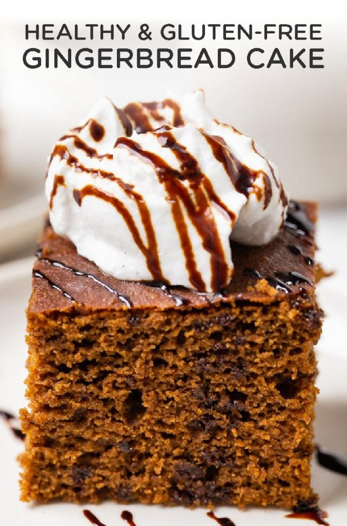 healthy gluten-free gingerbread cake
