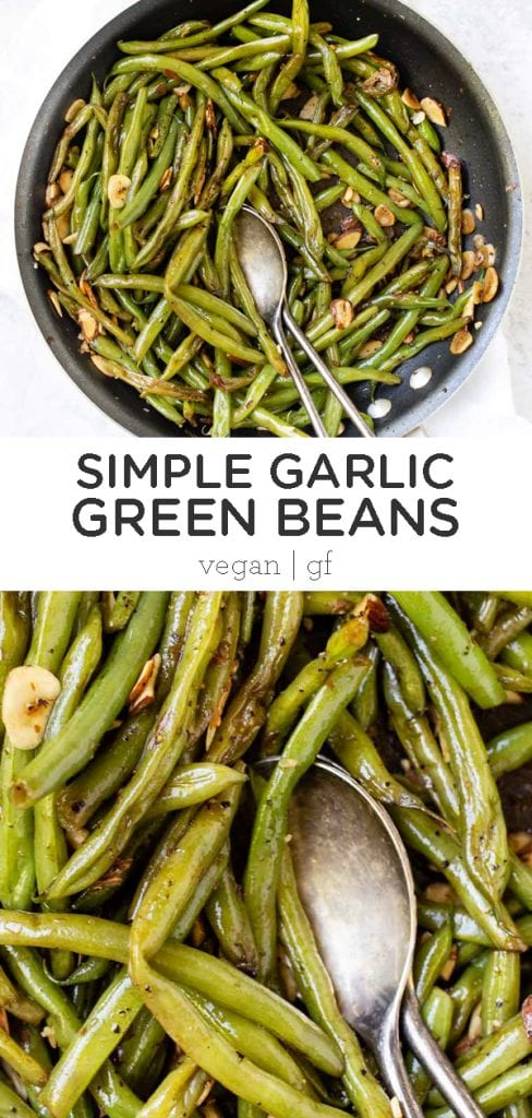 5-Ingredient Garlic Green Beans
