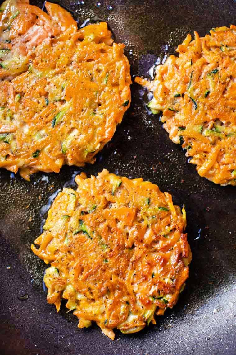 How to Make Veggie Fritters Healthy