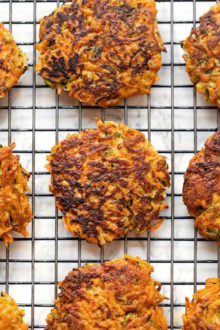 Gluten-Free Veggie Fritters Recipe