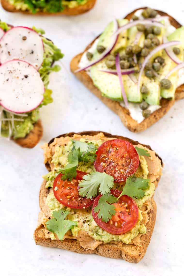 Different Types of Avocado Toast