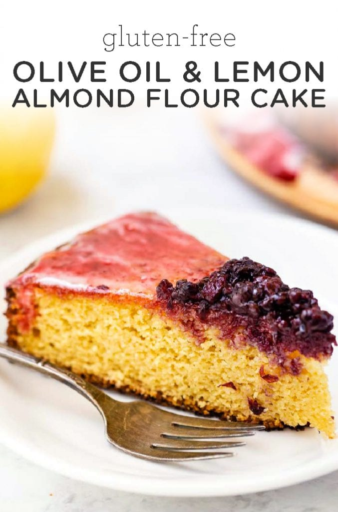 Lemon Olive Oil Almond Flour Cake
