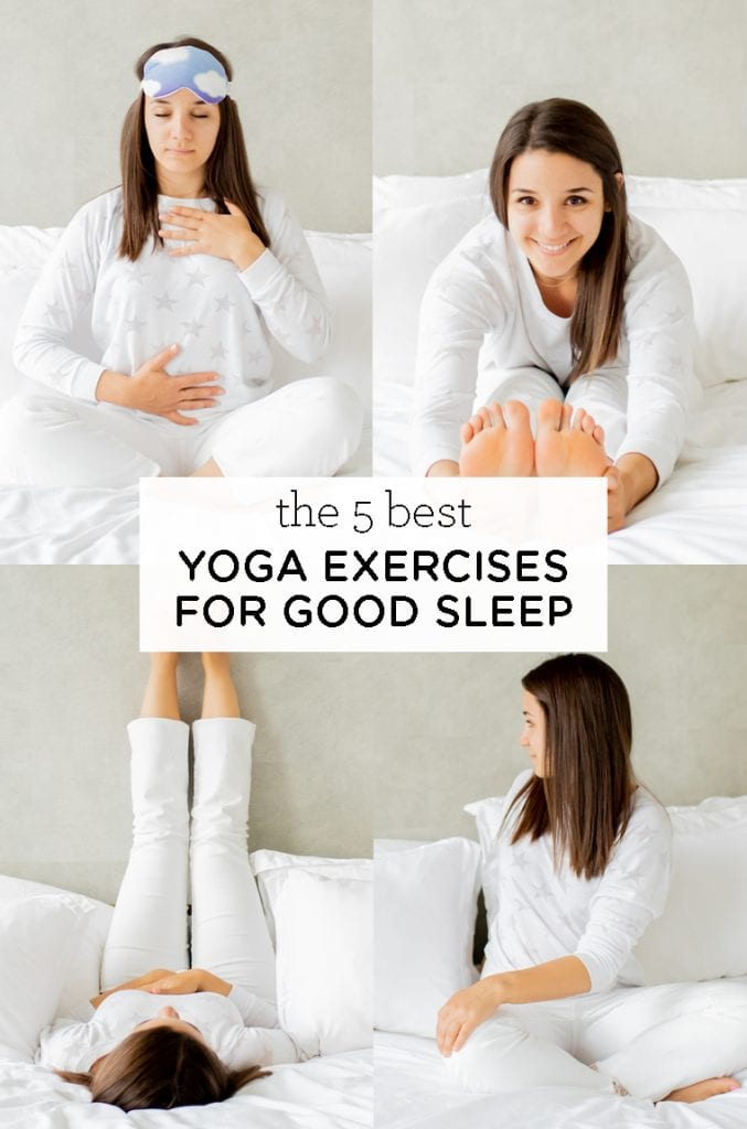 the 5 best yoga exercises for good sleep