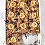Vegan Baked Oatmeal with Bananas