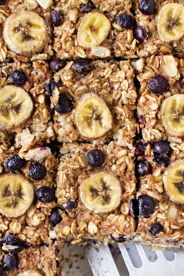 Blueberry Banana Baked Oatmeal Recipe