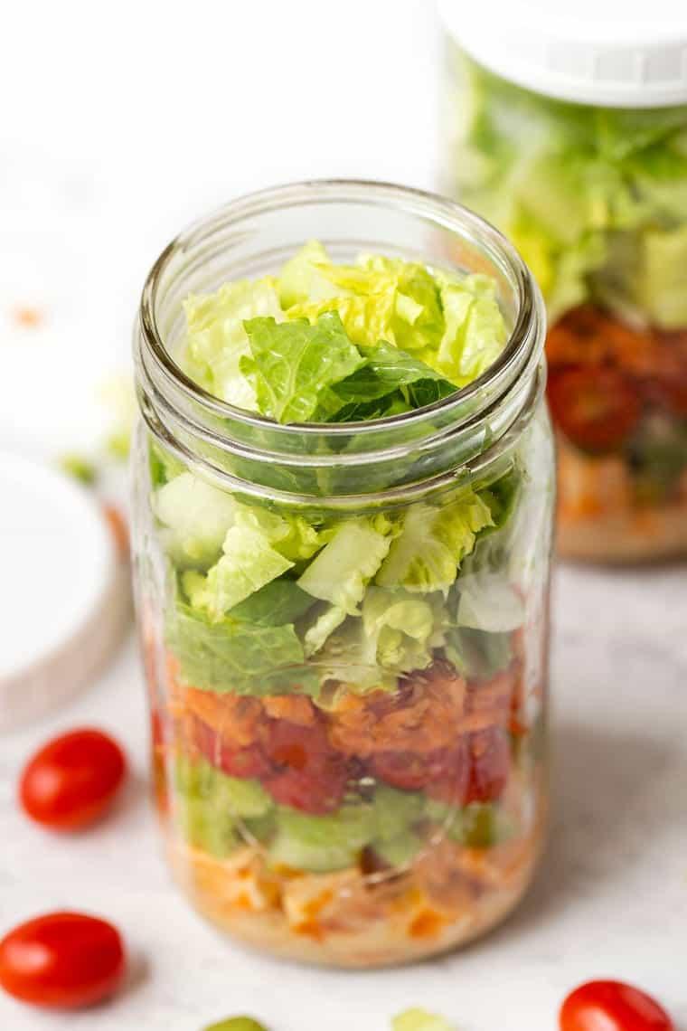 Best Size Jar for Salads