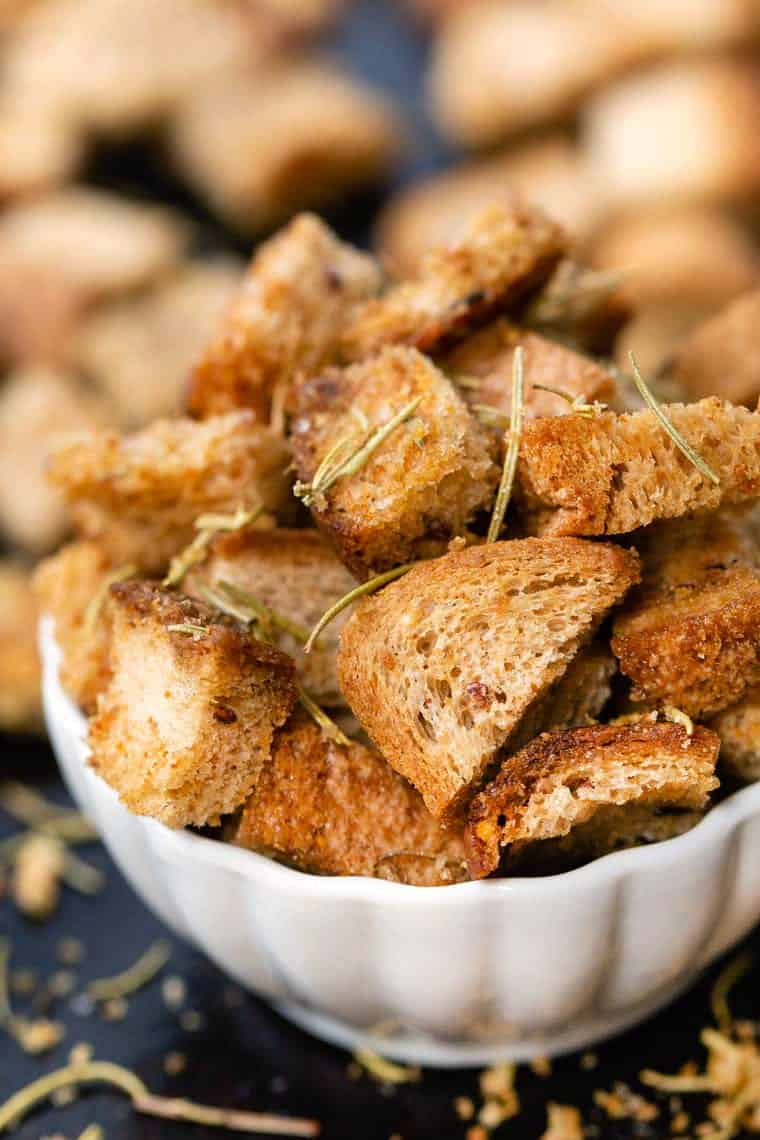 Easy Gluten-Free Croutons