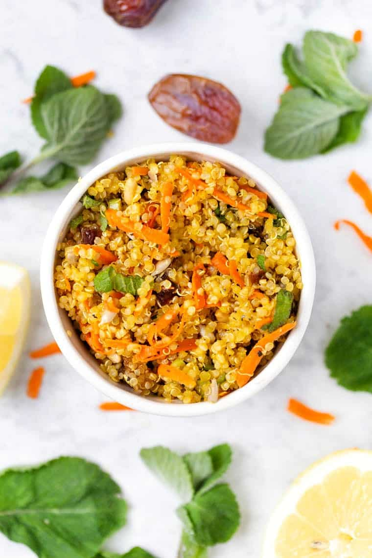 Israeli Quinoa Salad Recipe