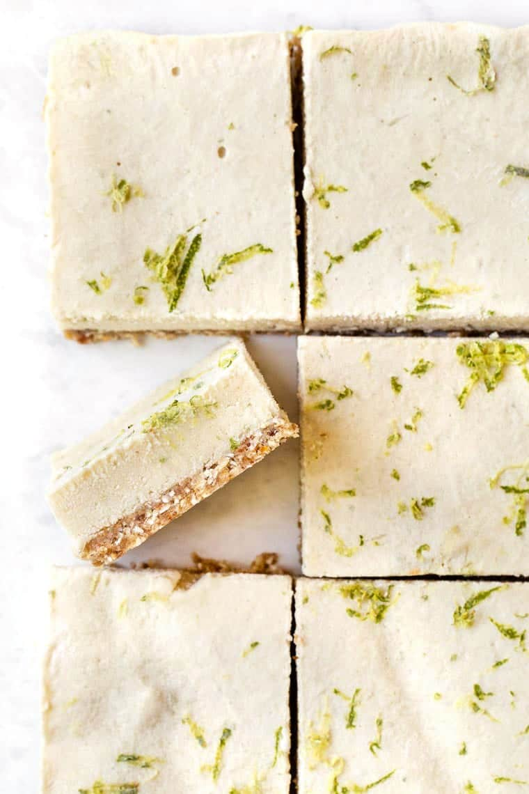 No Bake Key Lime Pie Bars